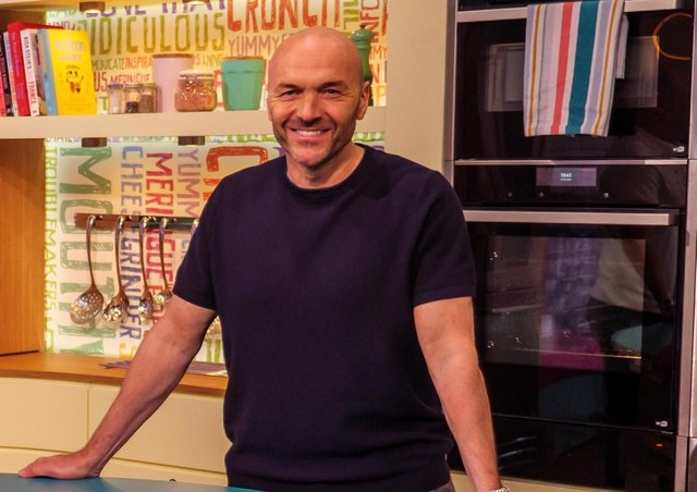 Sunday Brunch host Simon Rimmer has his own personal reason for supporting the cause; his dad was diagnosed with cancer when he was aged just nine.