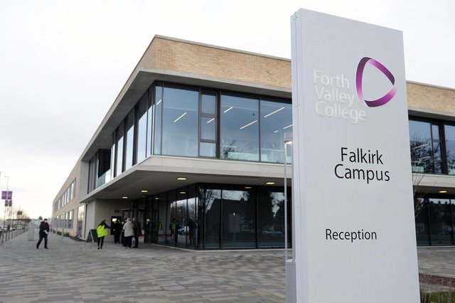 Forth Valley College lecturers will be reinstated after a dispute over the removal of their positions was resolved. Picture: Michael Gillen.