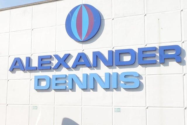 Camelon coach builder Alexander Dennis Ltd has secured a deal to construct 172 buses