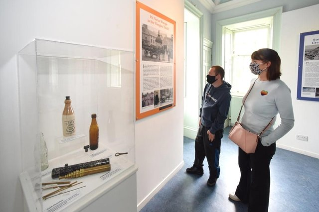 The Our Stories – Views from the Past exhibition in Falkirk's Callendar House remains open. Contributed.
