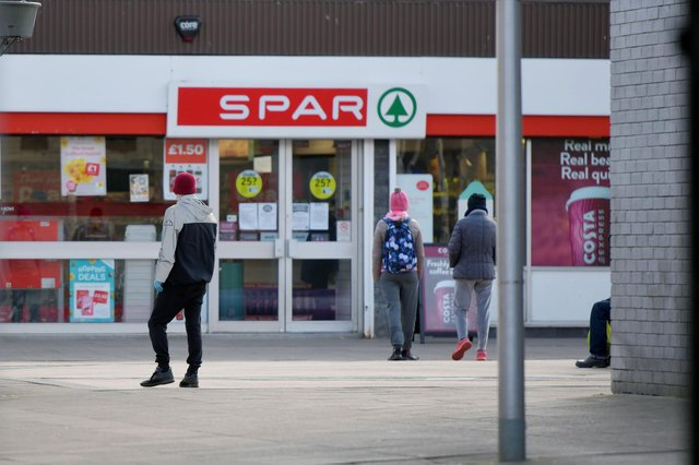 McGeever has been made subject to a non-harassment order not to go near the Spar store in Charlotte Dundast Court, Grangemouth
