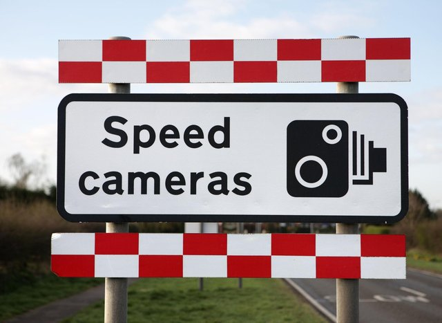 These are the locations of all the temporary speed cameras in and around Falkirk.