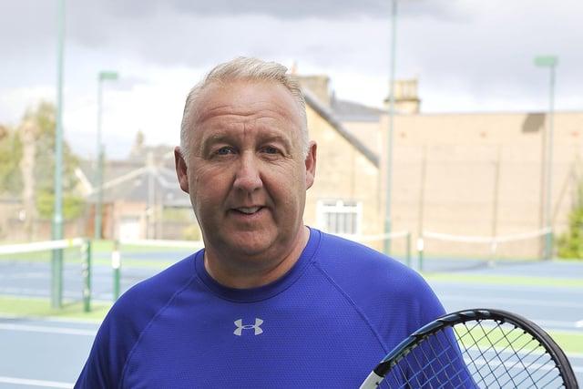Lex Miller at Falkirk Tennis Club (Pic: Michael Gillen)