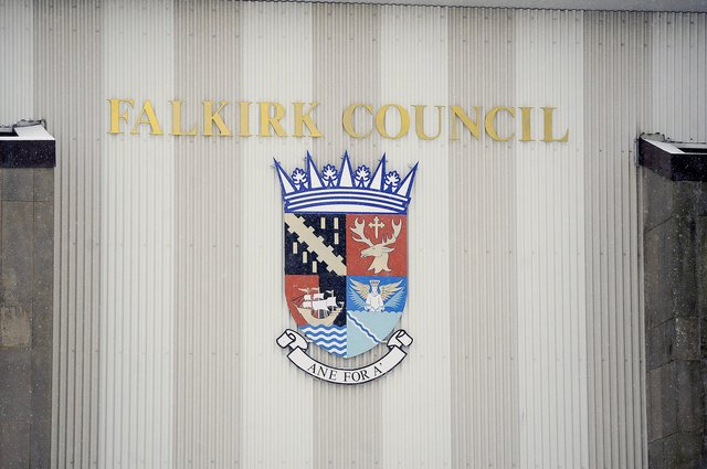 A garage owner has criticised Falkirk Council over its handling of the business' application for rates relief. Picture: Michael Gillen.