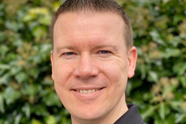 James Alexander, owner of Larbert's award winning design agency thefingerprint