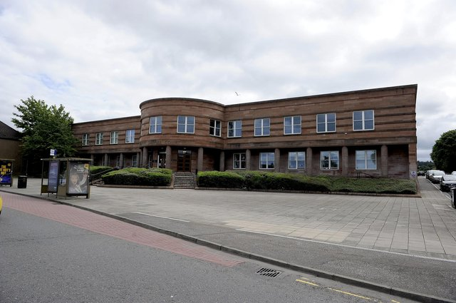 Varney appeared at Falkirk Sheriff Court on Thursday to answer for his threatening behaviour