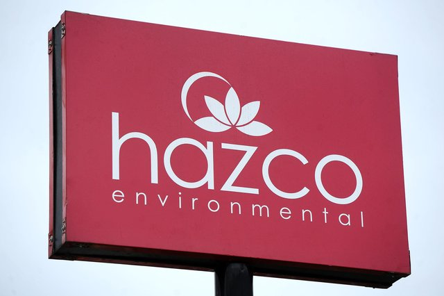 Four members of staff at Hazco tested positive for COVID-19 and a further 12 have been forced to self isolate