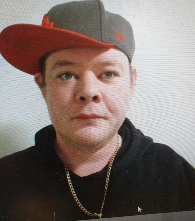 Michael Hunter, 36, was last seen at Stirling Road Larbert about 12.45pm on Tuesday June 8 (Photo: Police Scotland).
