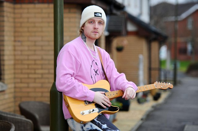 The Voice winner Craig Eddie will perform in front of a home crowd at this year's Vibration Festival in Falkirk. Picture: Michael Gillen.