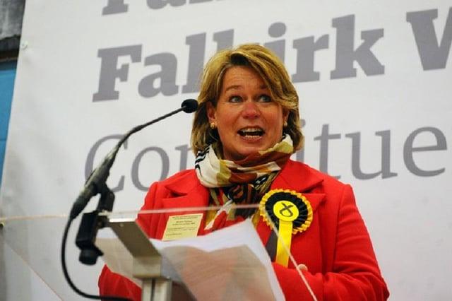 Michelle Thomson wins Falkirk East ( Picture Michael Gillen)