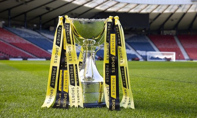 The Premier Sports Cup (FKA the Betfred Cup) group stages have been drawn (Pic courtesy if SPFL)