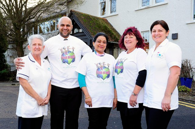 Amrit Dhillon has been supporting Strathcarron Hospice and its vital work since 2015 after his father Harry sadly died there in that year