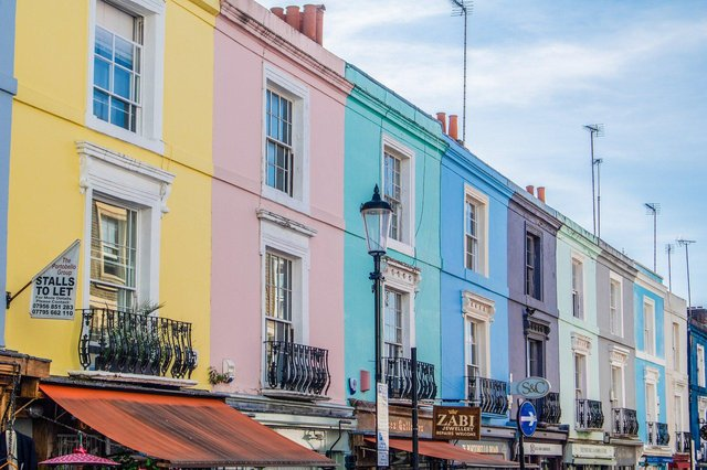 The top 12 most popular paint colours for the outside of houses.