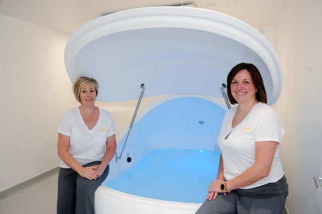 Res(e)t Float Centre owners Susan Bell andDonna-Jane Dick said opening the facility was a dream come true for them