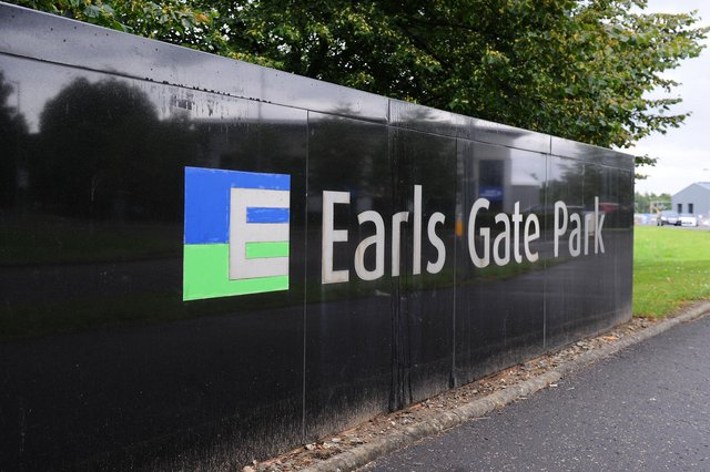 The new Earls Gate Energy Centre in Earls Gate Park, Grangemouth will be venting steam over the next few months