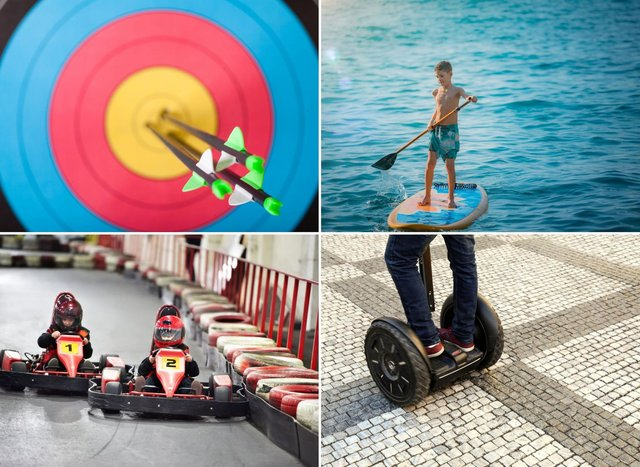 Some of the sporting activities available around Falkirk for your kids to enjoy this summer.