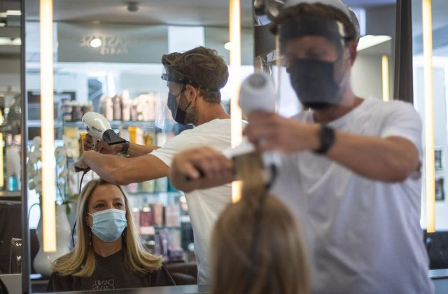Hairdressers and barbers can reopen in Scotland from Monday as further coronavirus restrictions are lifted.
