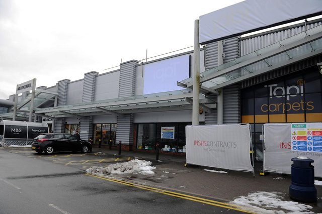 The extension will expand the M&S by around 70% (Photo: Michael Gillen).