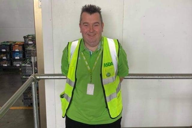 David Blair from Grangemouth