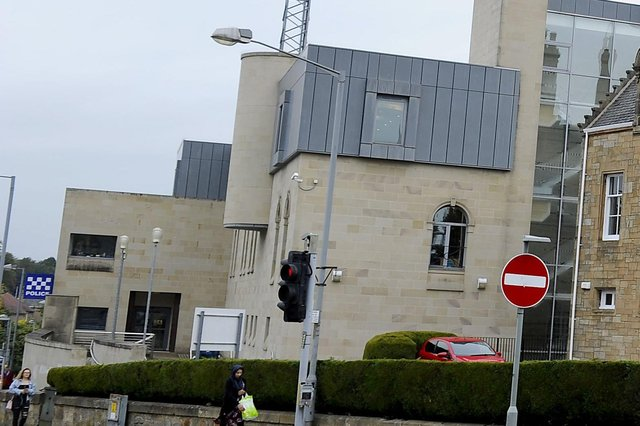 Millar breached her bail conditions when she turned up at Falkirk Police Station after 7pm