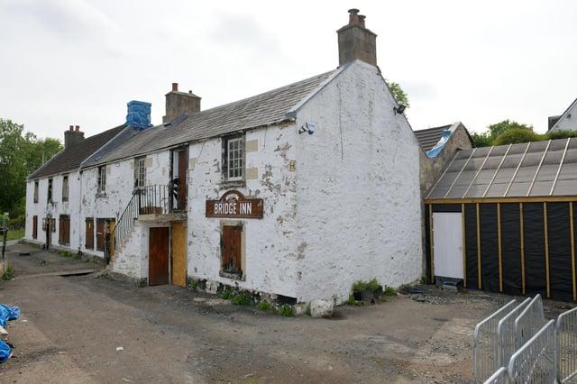 Work has been ongoing to refurbish the Bridge Inn