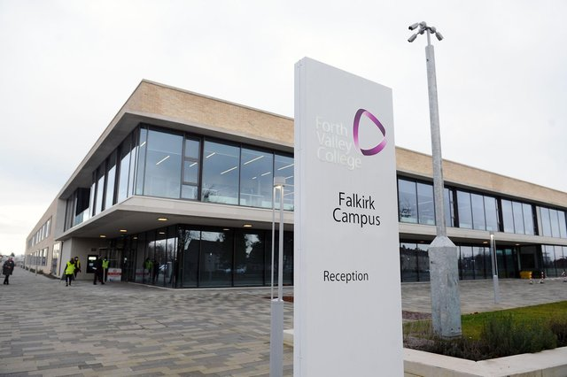 Forth Valley College's Falkirk campus has provided benefits to the local community