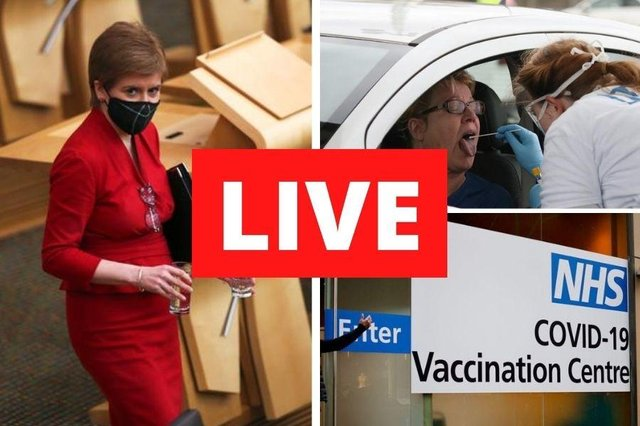 Nicola Sturgeon to give coronavirus update and face FMQs amid calls for her to resign over Salmond Inquiry.