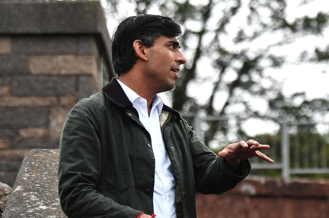 Chancellor Rishi Sunak (Pic: John Devlin)