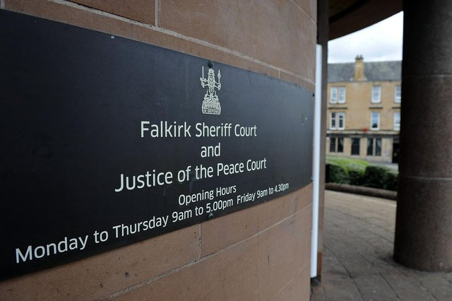 Thomas Canavan was physically unable to appear at Falkirk Sheriff Court. Picture: Michael Gillen.