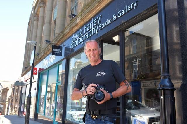 Derek Harley, director of Derek Harley Photography Studio and Gallery in Falkirk. Picture: Michael Gillen.