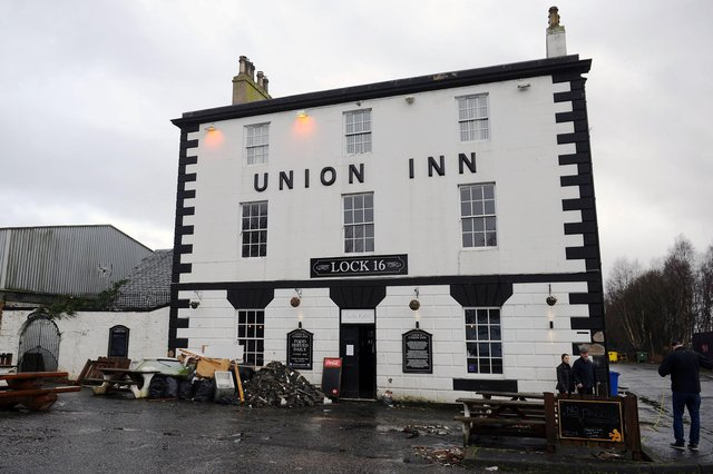 The Union Inn is waiting to see if it will be able to keep its roofed beer garden area