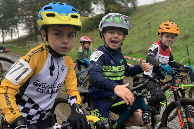 Falkirk Junior Bike Club members are taking on a second 12-hour relay to fundraise for Strathcarron Hospice.