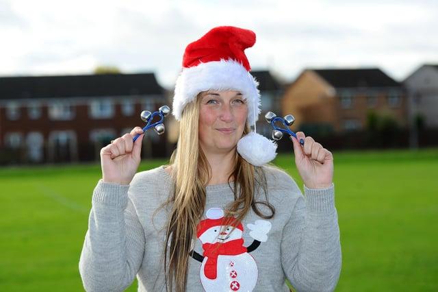 Lauren Sinclair, creator of the ''Worldwide Santas Christmas Eve Jingle'