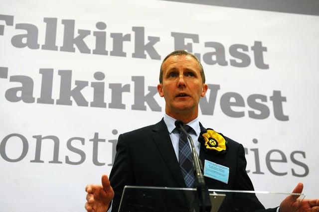 Michael Matheson retains his Falkirk West seat (Pic: Michael Gillen)