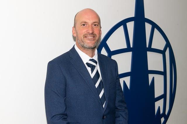 New Falkirk FC head coach Paul Sheerin