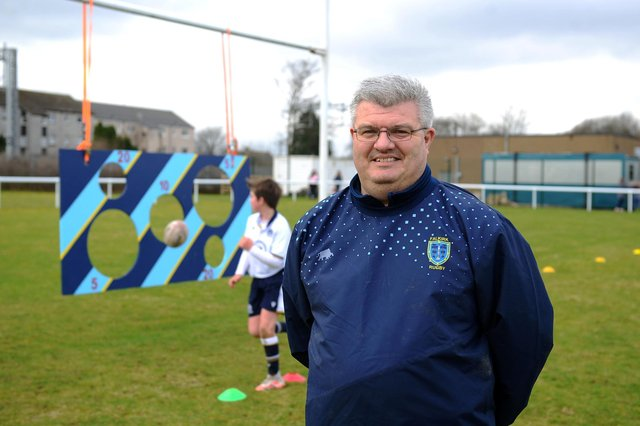 Falkirk RFC Director of Rugby Kenny Grieve