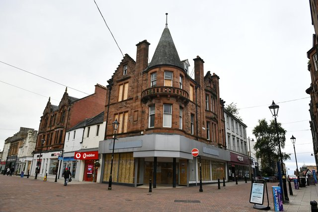 REWD Group has now purchased the former Burtons menswear premises in Falkirk High Street from property developers Bellair
