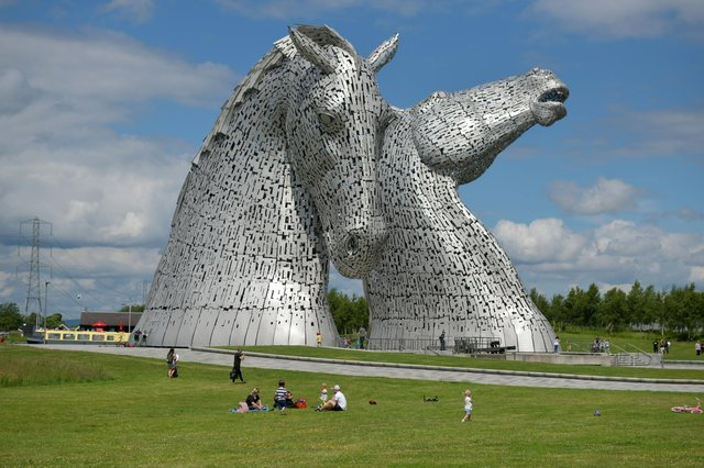 More Than Fibro support group founder Sharon Turnbull will be stopping off at the Kelpies on Saturday to raise awareness about fibromyalgia