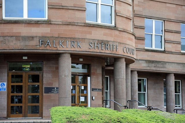 William Boon appeared at Falkirk Sheriff Court via video link. Picture: Michael Gillen.