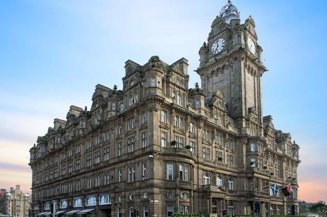 The Balmoral is one of Scotland's finest hotels.