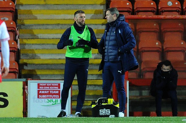 Lee Miller and David McCracken made 19 signings during their time as Falkirk co-managers