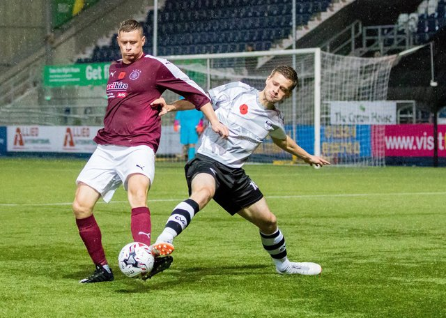 East Stirlingshire and Linlithgow Rose last met in the South Challenge Cup in 2018 where Shire were 5-1 winners (Pic: Paul Cram)
