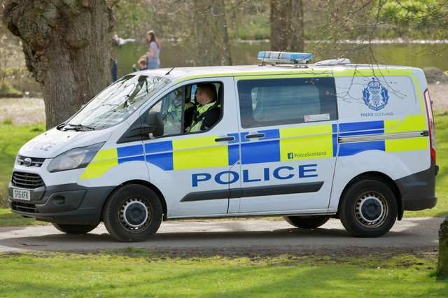 Police have charged two men with fraud, theft and road traffic offences in connection with incidents in Falkirk district in October 2020. Picture: Michael Gillen.