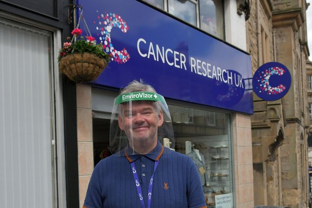Cancer Research UK Falkirk branch manager David Cumming. Picture: Michael Gillen.