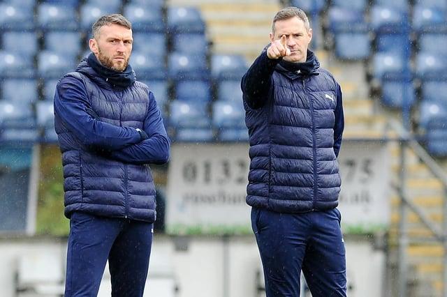 Lee Miller and David McCracken, along with goalkeeping coach Derek Jackson, have left Falkirk
