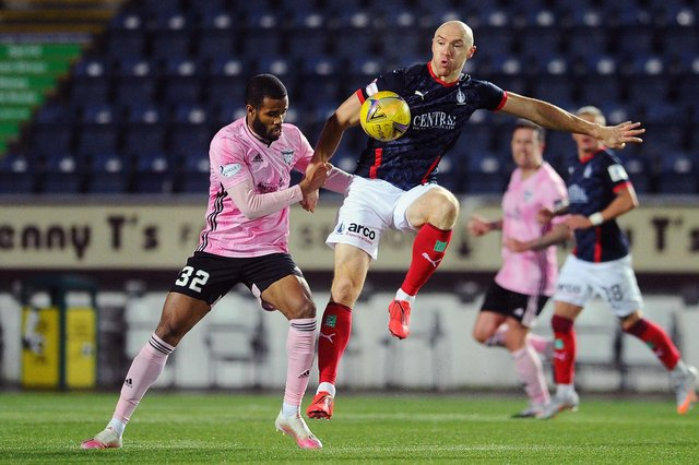 Falkirk will be away to Peterhead in their final post split fixture