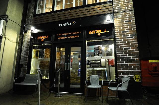 Taste Smokehouse Bar/Grill; Falkirk