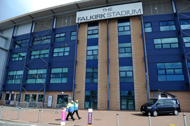 The Falkirk Stadium will host two drive-in cinema events in aid of charity in August. Picture: Michael Gillen.