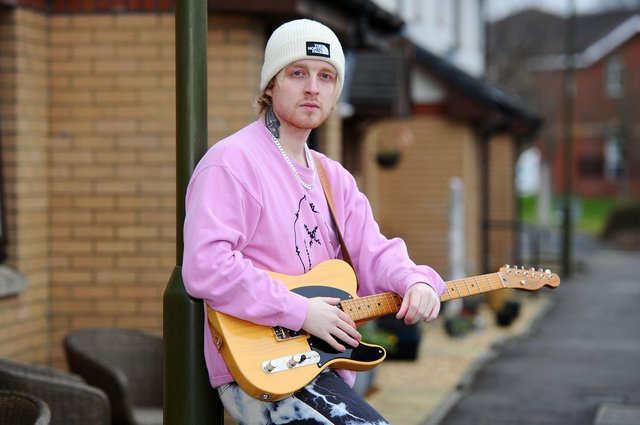 New Carron man Craig Eddie has rocketed up the charts since winning The Voice 2021. Picture: Michael Gillen.