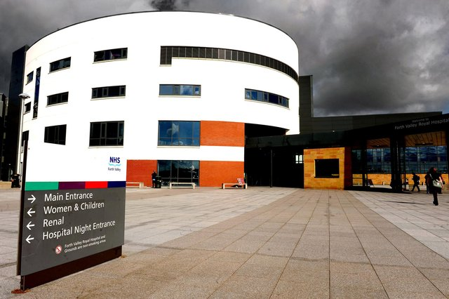 The GMB has blasted Serco for not rewarding staff working at Forth Valley Royal Hospital with their £500 bonus